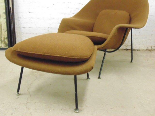 Knoll, Saarinen womb chair & ottoman - 3