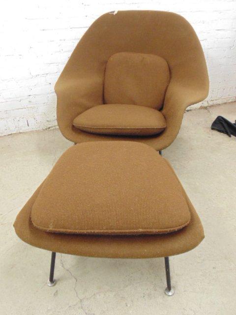 Knoll, Saarinen womb chair & ottoman - 5