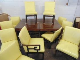 Baker Chinese style dining room set