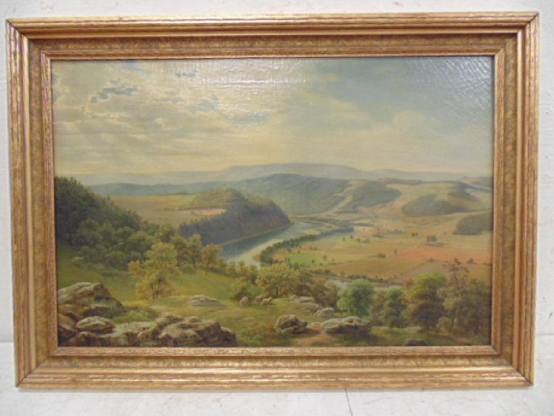 Painting,  Buck County Pennsylvania, Julius O.