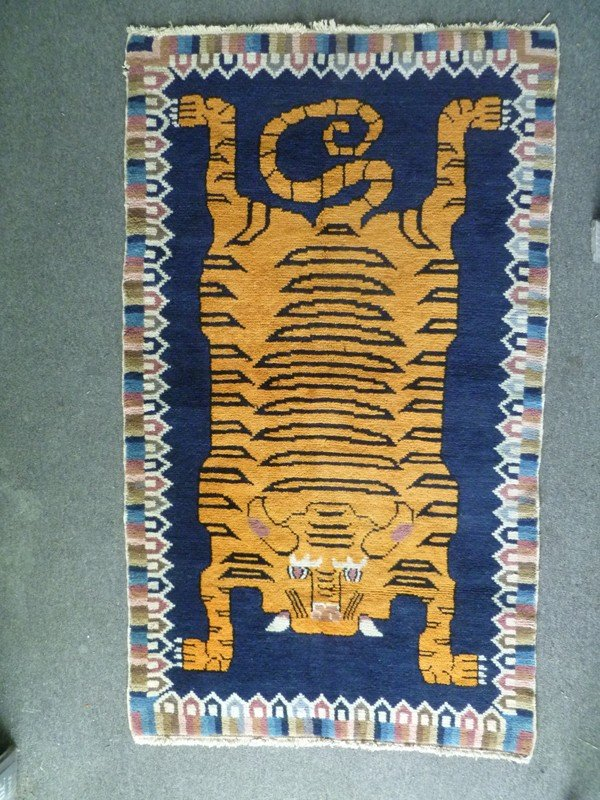 009: TIGER RUG from TIBET