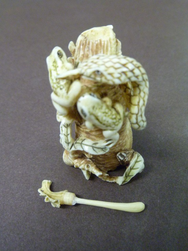 018: Japan: Detailed IVORY SNUFF