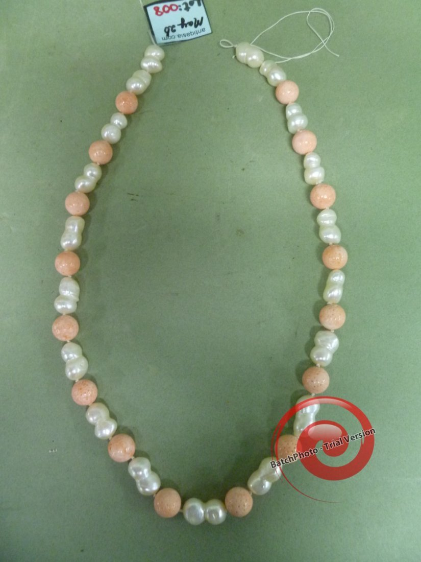 008: Giant BAROQUE PEARLS & Chinese CORAL