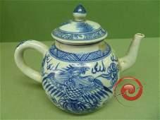 "111: ""Ca Mau"" Blue&White TEAPOT"