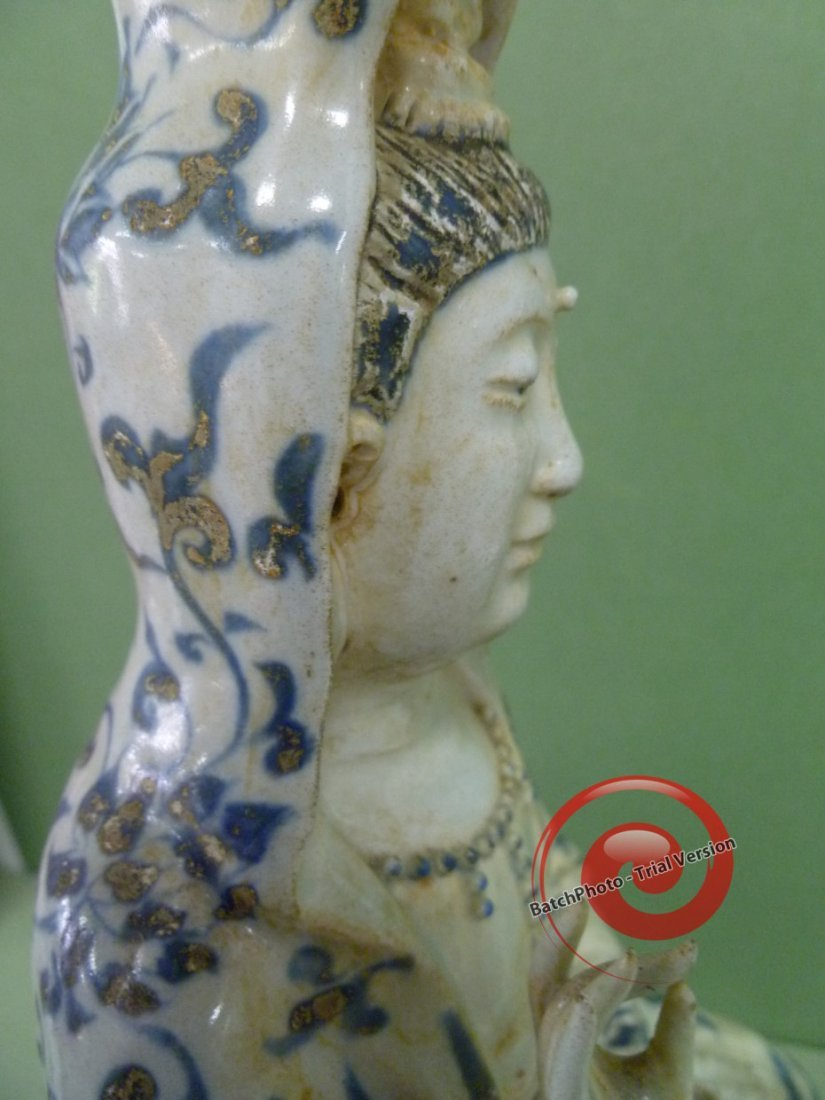 158: LARGE CENTRAL CHINA GUANYIN - 5