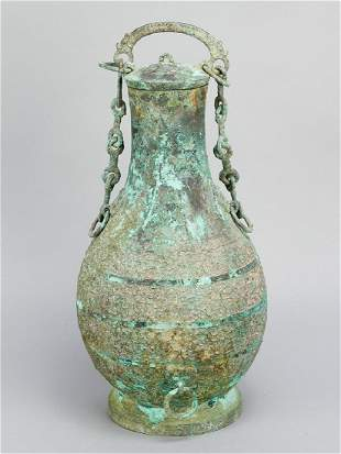 Archaic bronze vase in Song manner
