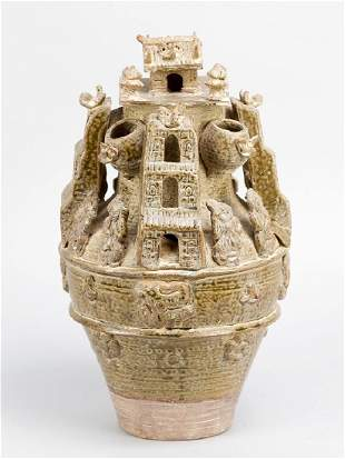 Chinese ceramic ritual object
