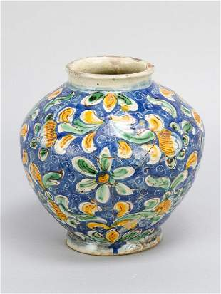 Sizilian ceramic vase