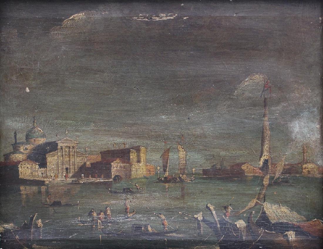 Francesco Guardi (1712-1793)-manner - 2