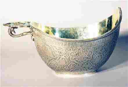 Large Russian silver representaion kowsch