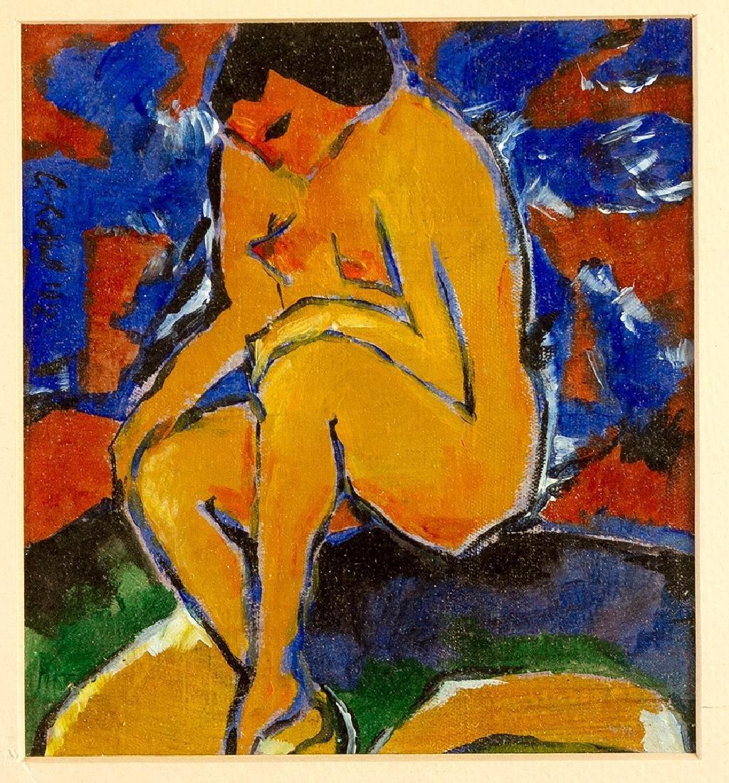 Karl Schmidt-Rottluff (1884-1976)-attributed - 2