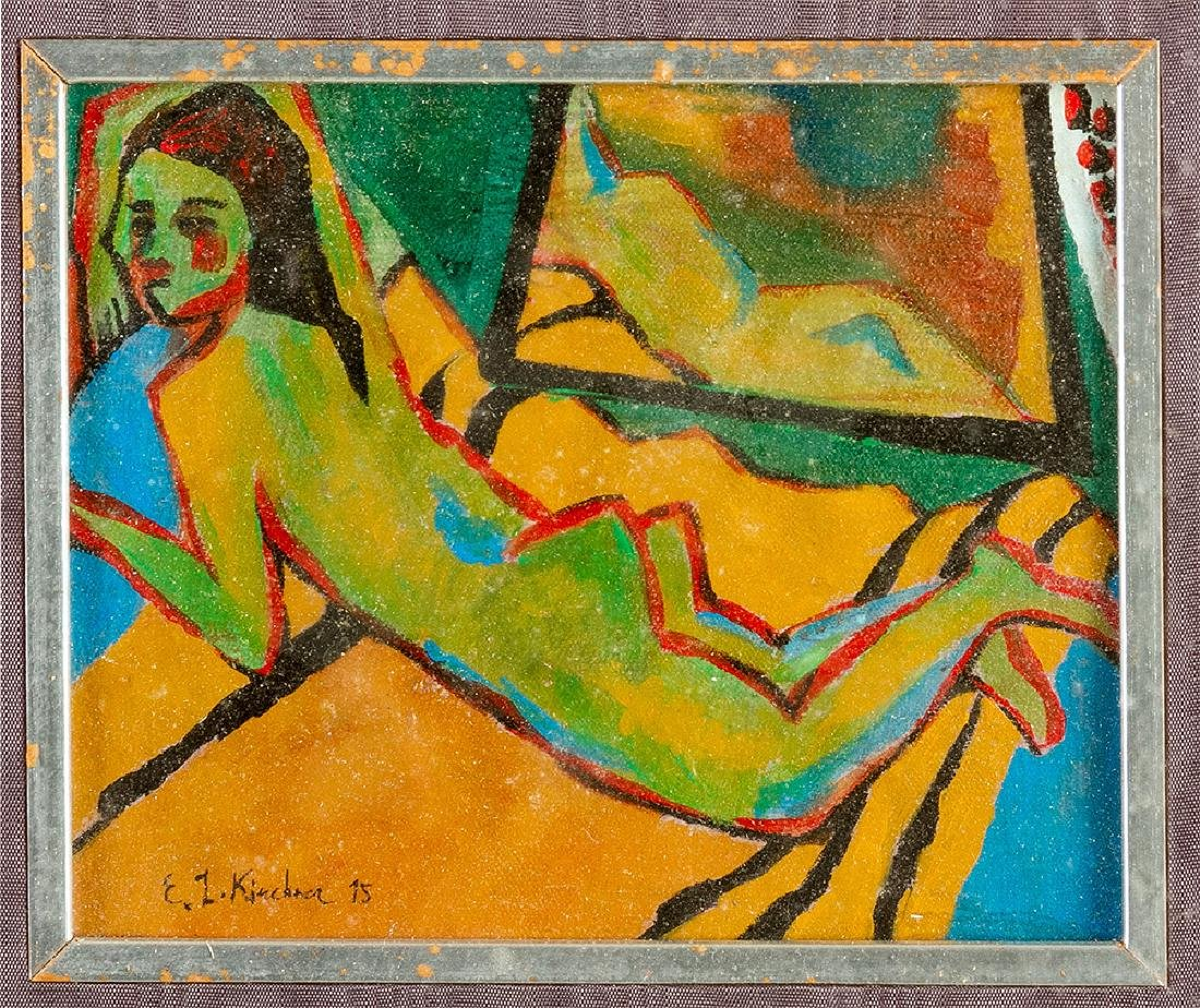 Ernst Ludwig Kirchner (1880-1938)-attributed - 2