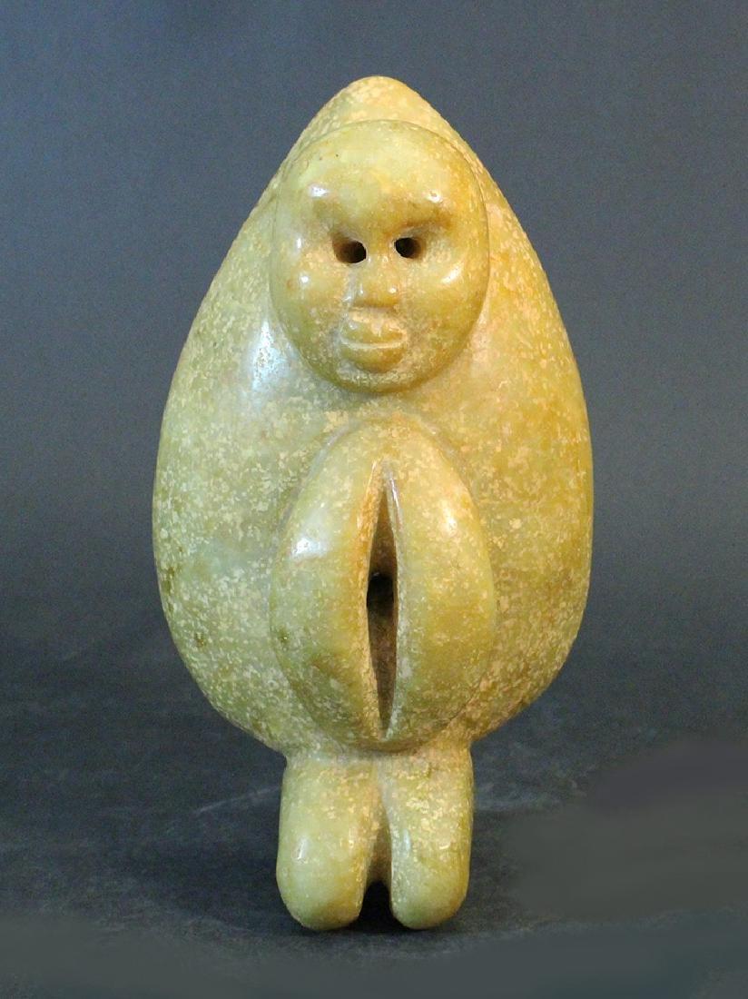 Jade fertility symbolic sculpture yellowbrown chinese jade fertility symbolic sculpture yellowbrown buycottarizona Images
