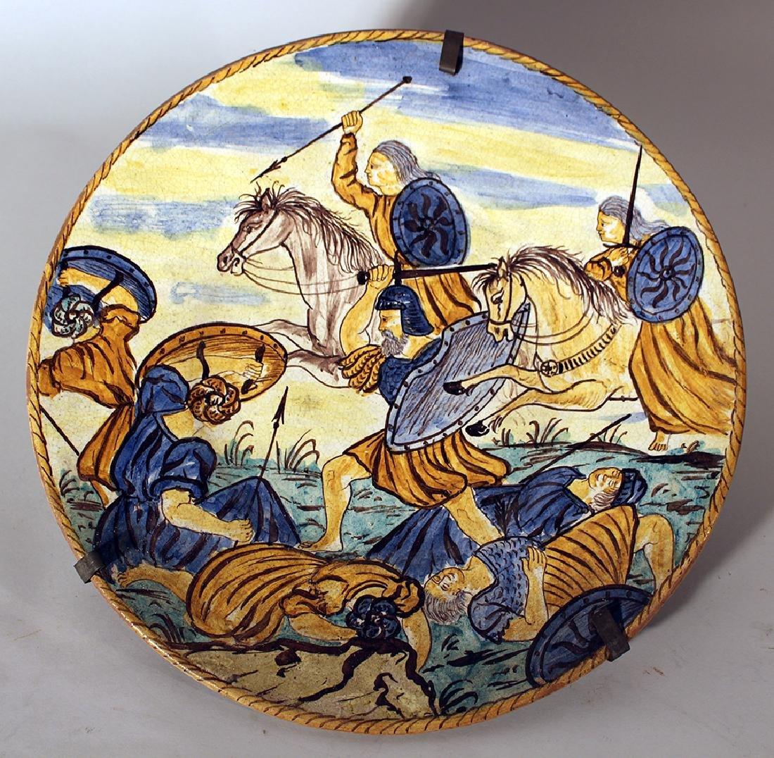 Italian ceramic dish