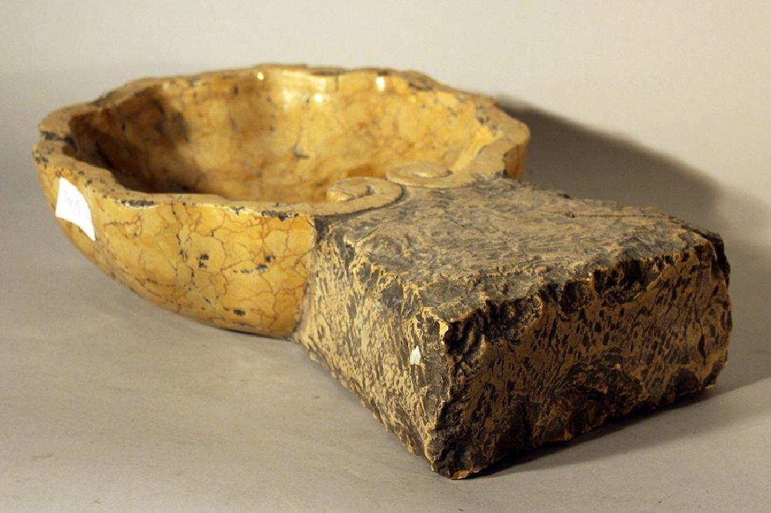 Small Italian stone basin - 2