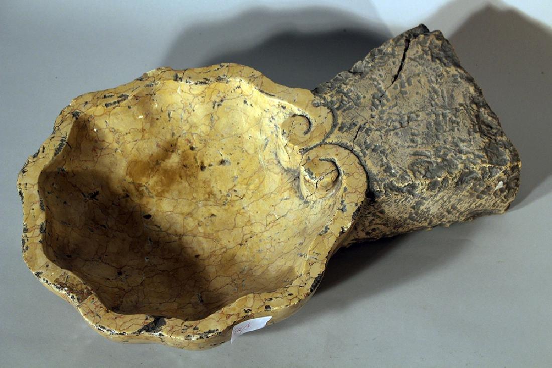 Small Italian stone basin - 3