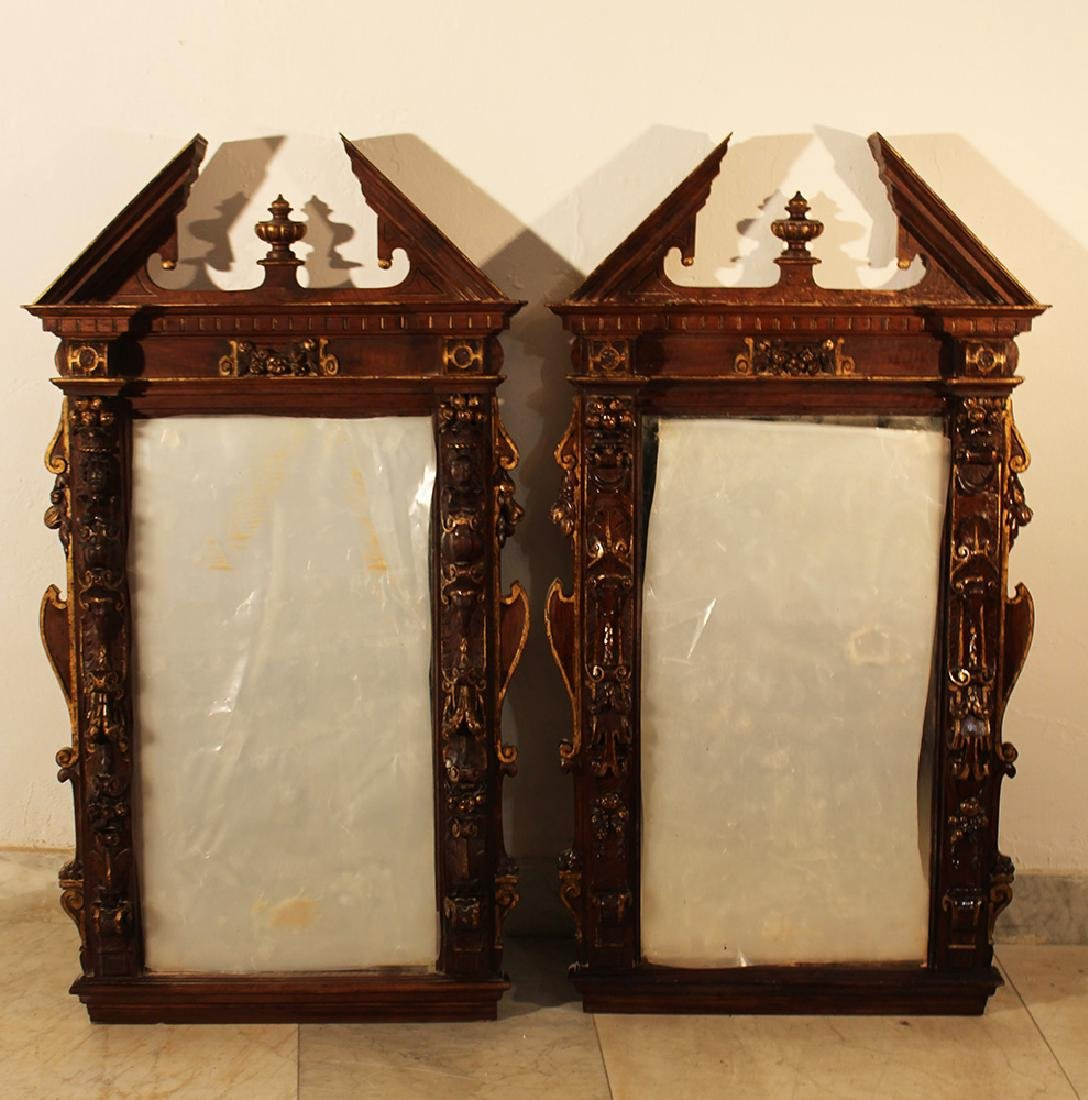 Pair of French mirrors
