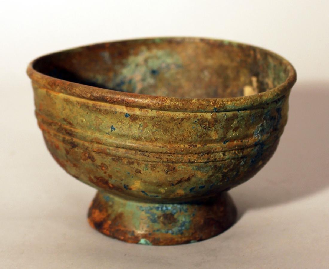 Chinese bronze bowl