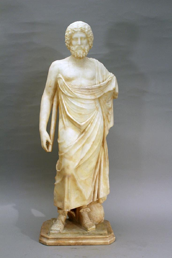 Italian alabaster sculpture