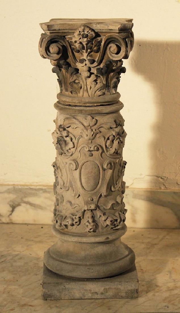 Small stone column