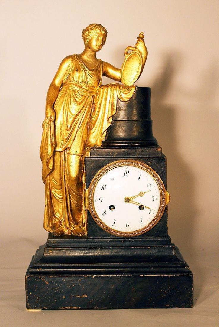 Austrian or Italian apothecary clock