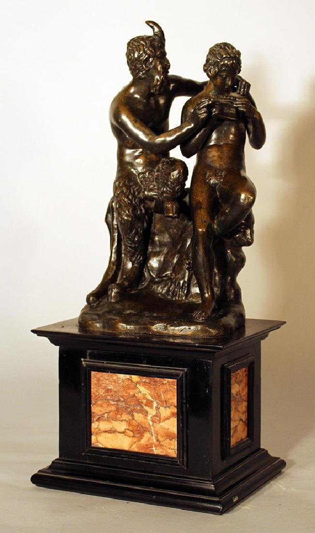 French bronze group