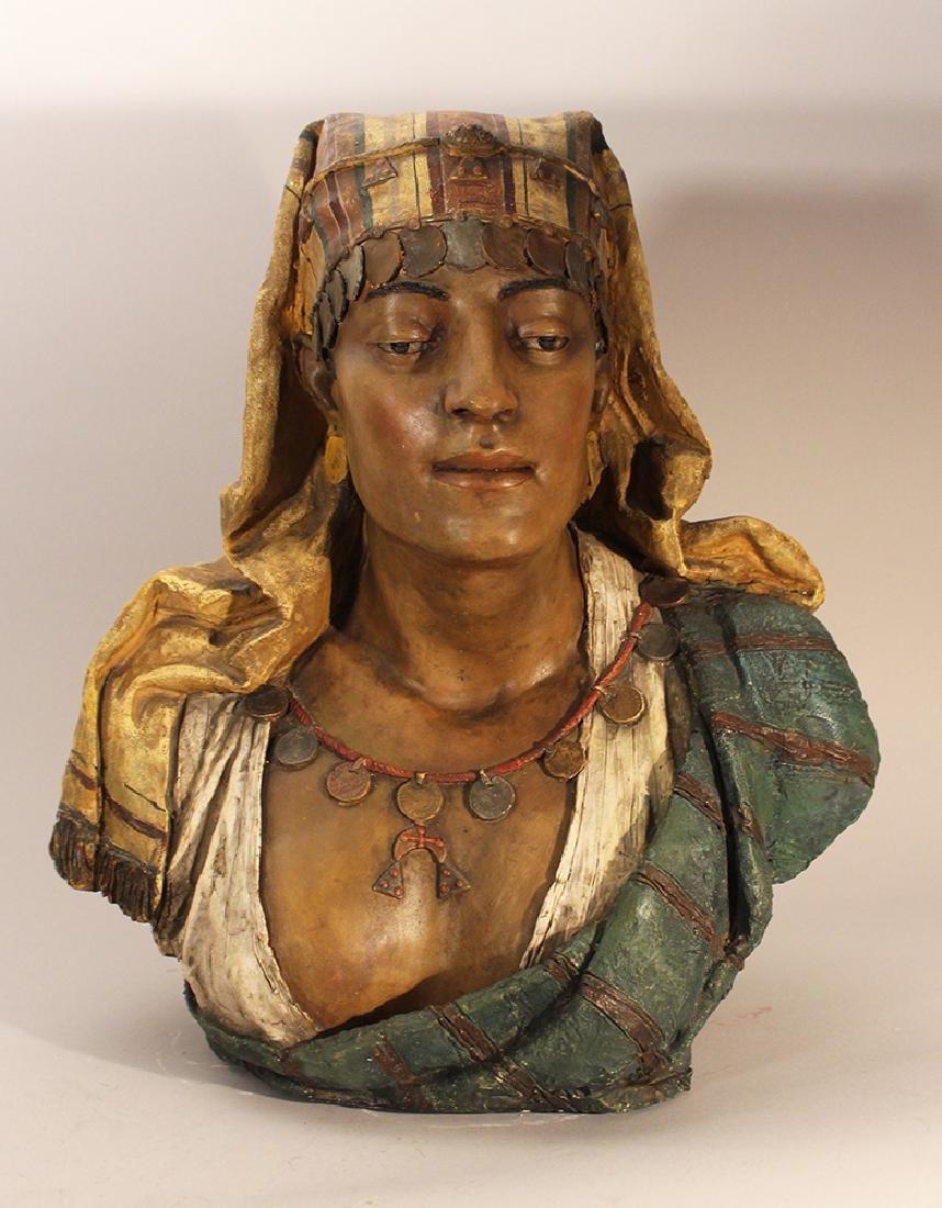 Goldscheider terracotta bust