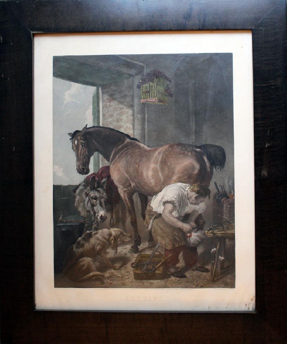 English engraving after Edwin Landseer (1802-1873)
