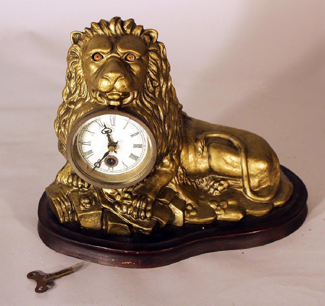 Eye turning clock