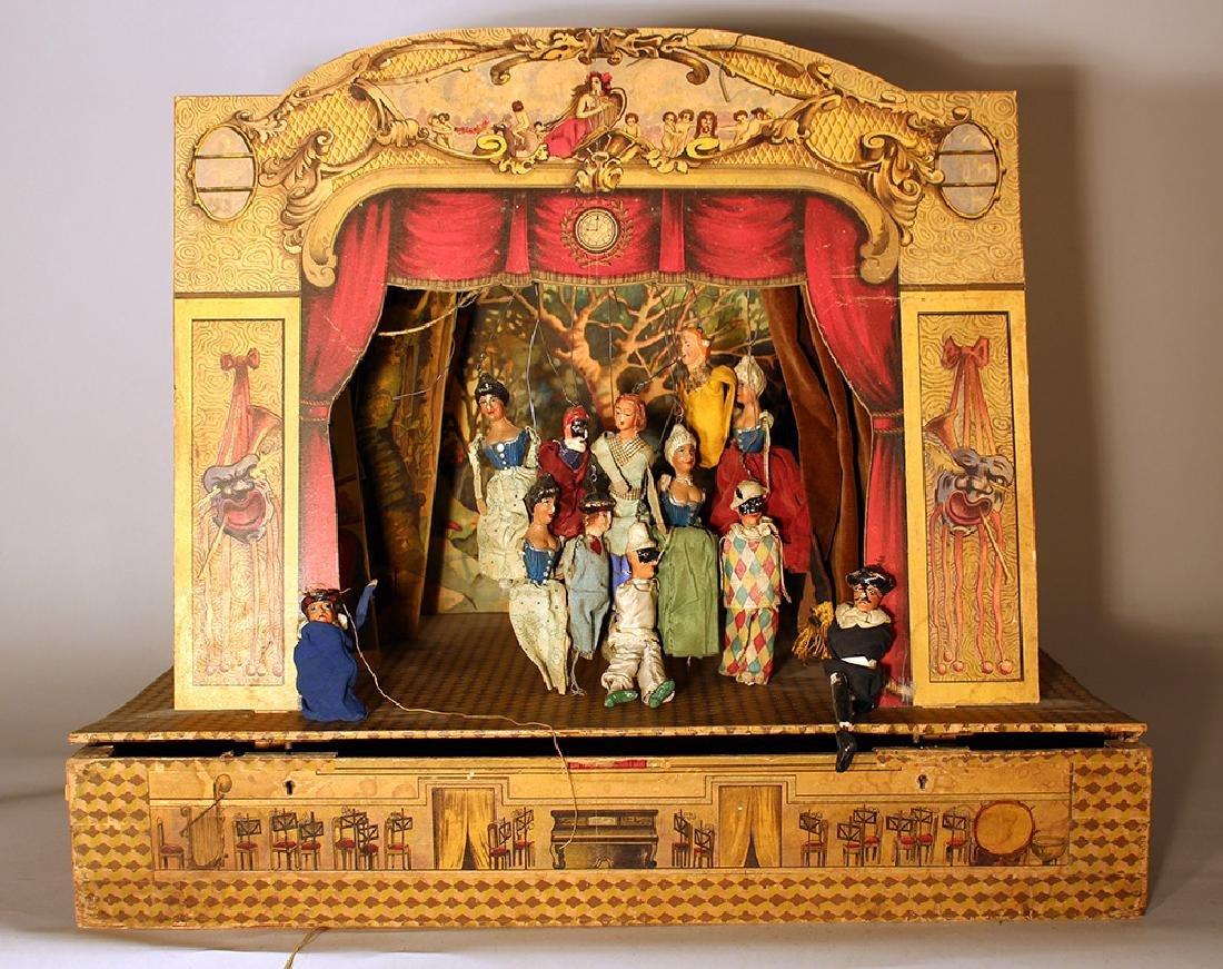 Italian puppet theatre
