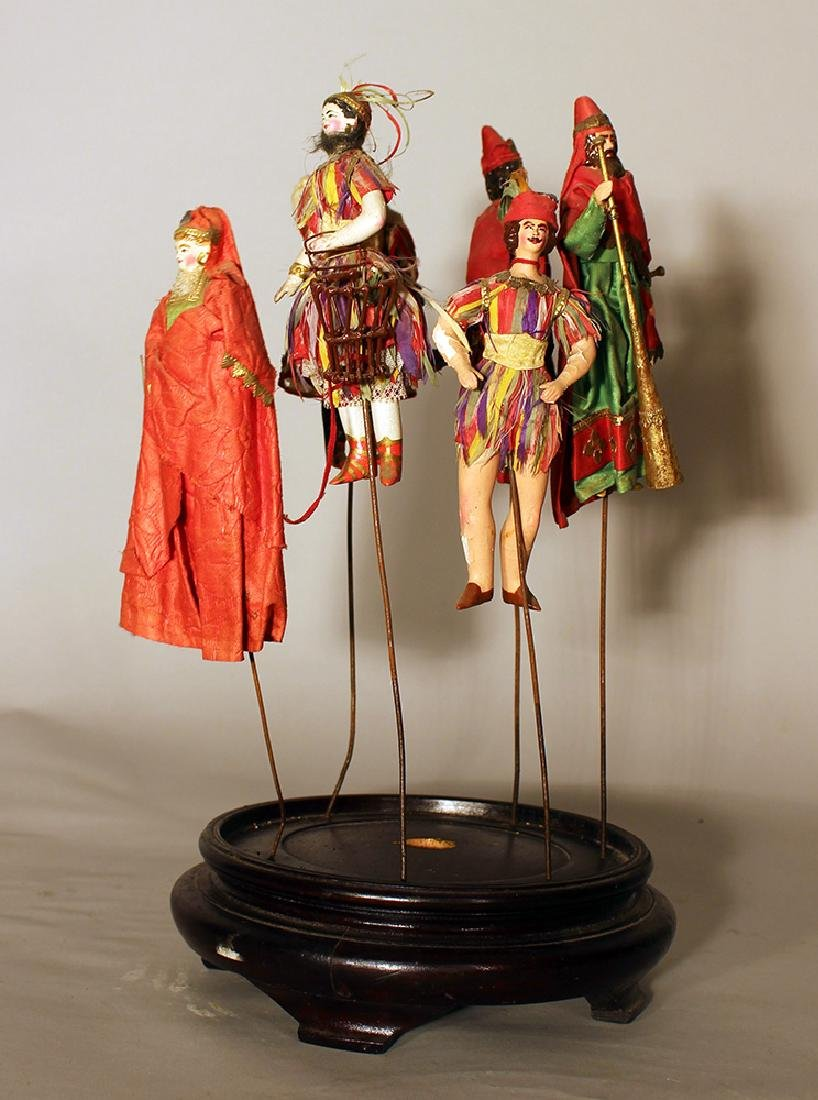 Play figures from the Magic Flute