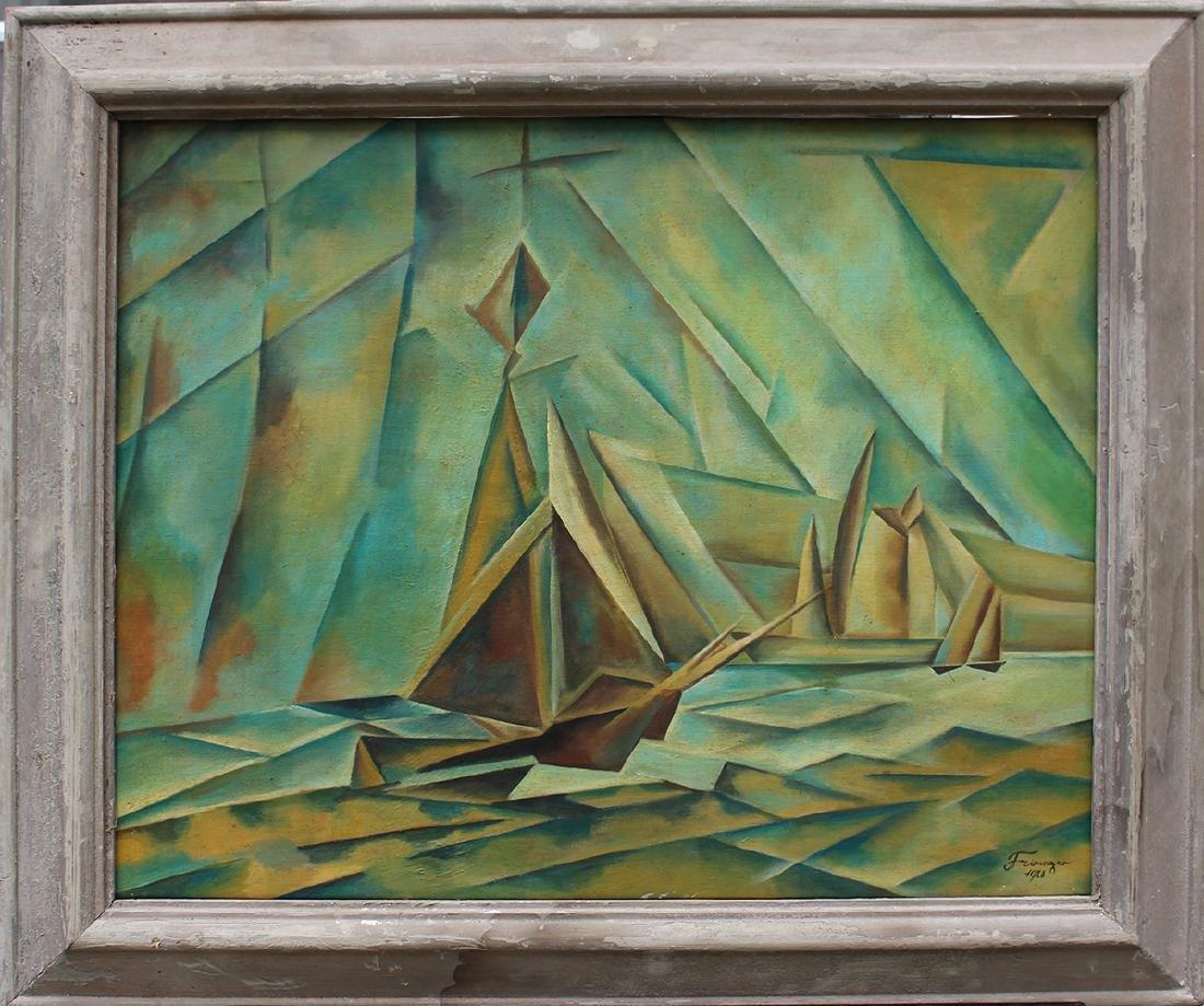 Lyonel Feininger (1871-1956)-manner