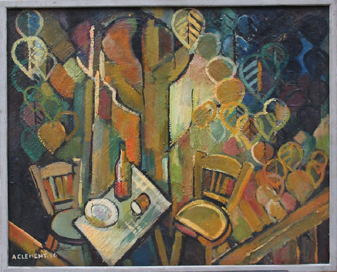 French artist around 1955