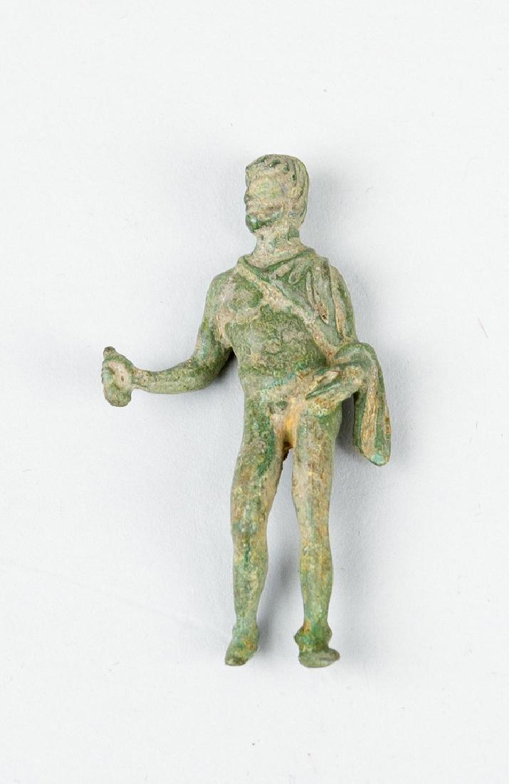 Bronze sculpture in ancient manner