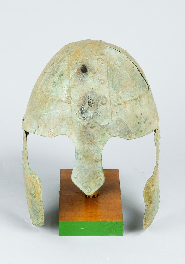 Archaic bronze helmet