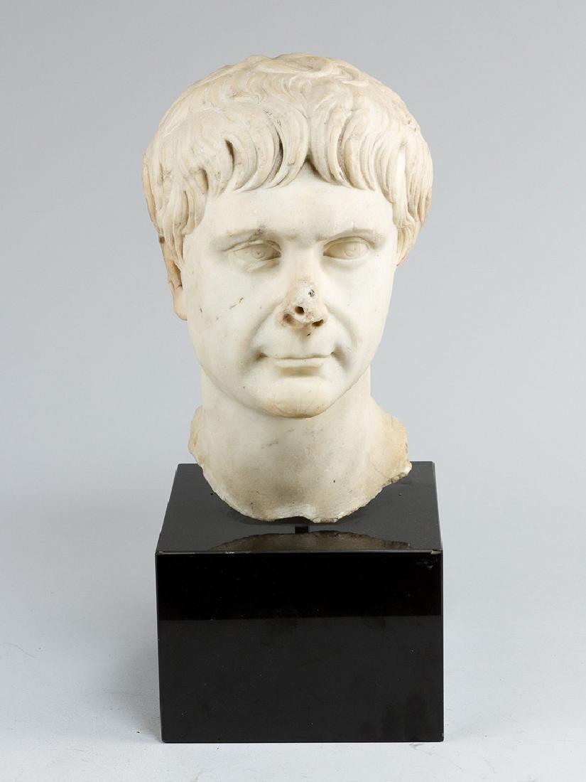 Roman Emperor marble bust of Caligula