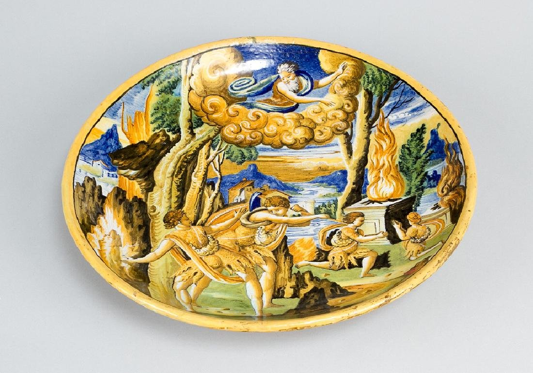 Urbino ceramic plate