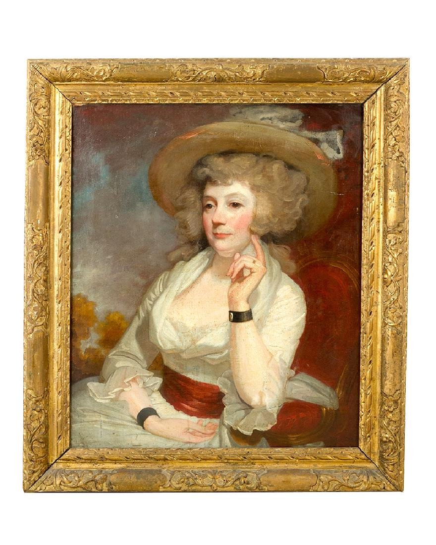 George Romney (1735-1802)-attributed