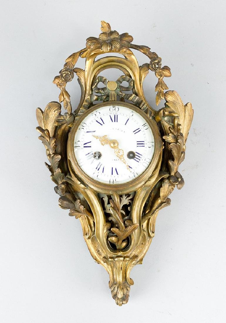 Small French Cartell Clock