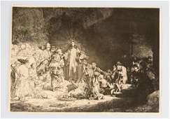 Rembrandt Harmenszoon van Rijn (1606-1669) – etching