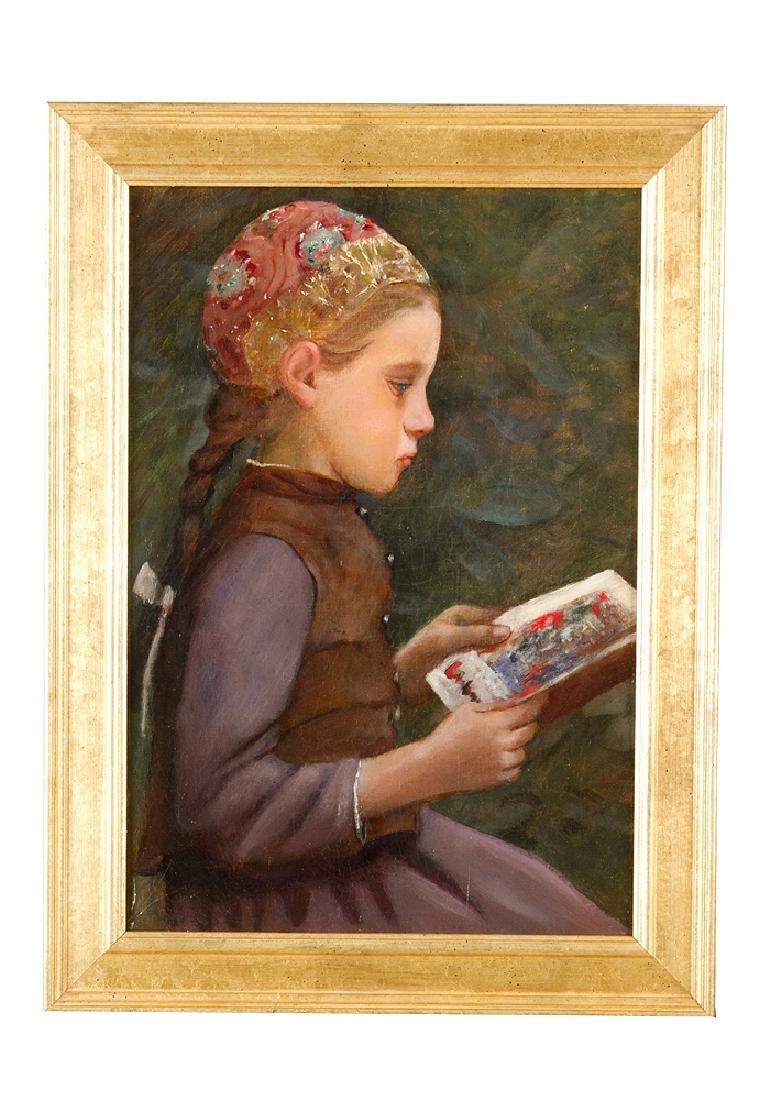 Albert Samuel Anker (1831-1910)-attributed