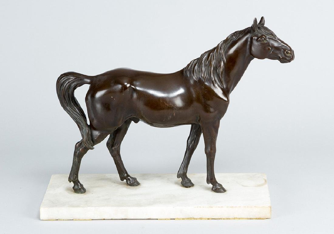 Asian bronze horse