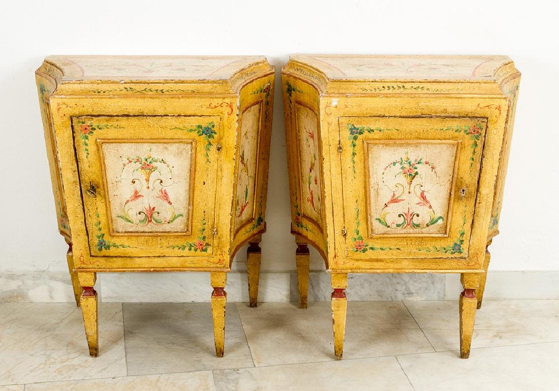 Pair of Turin Chests