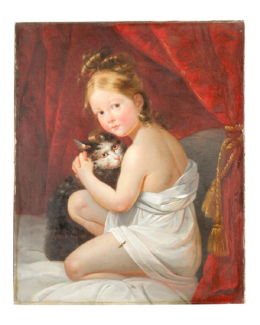 Antoine Jean Baron Gros (1771-1835)-attributed