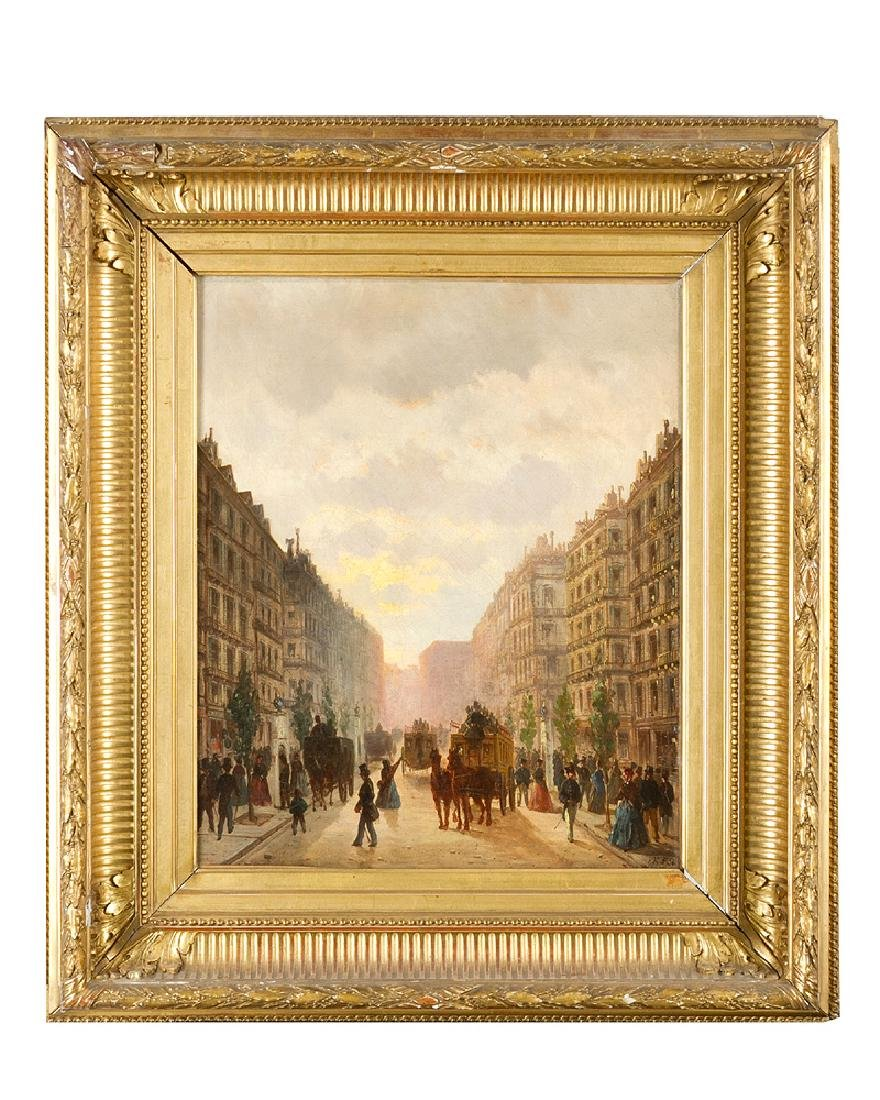 French Artist mid of 19 Century
