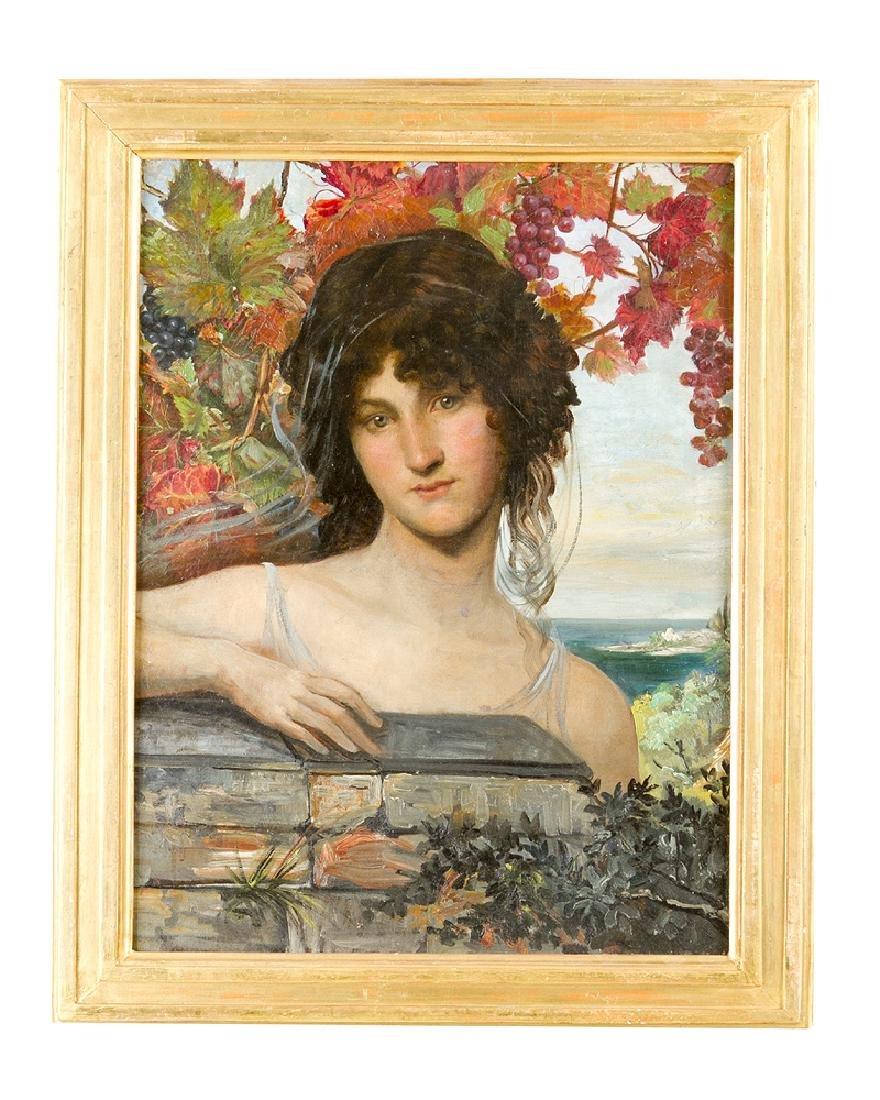 English Pre-Raphaelite Artist 19 Century