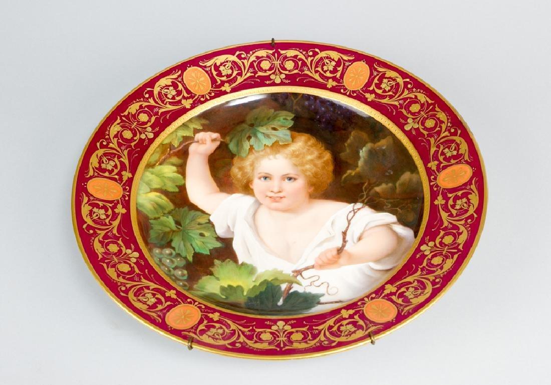 Vienna Porcelain Plate