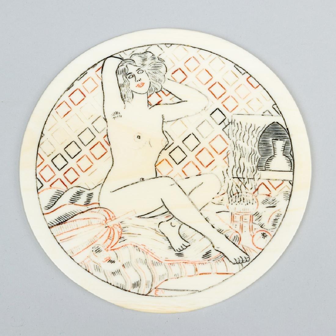 Art Nouveau I. plate