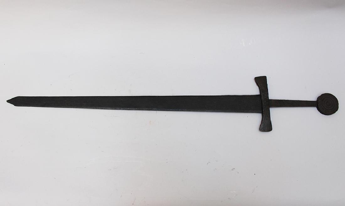 Medieval Iron Sword