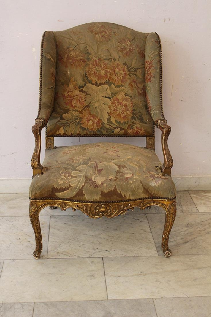 French Aubusson Armchair